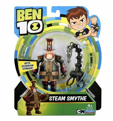 Ben 10 STEAM SMYTHE Action Figure With Scorpion Stinger Playmates Toys Brand New • 24.99£