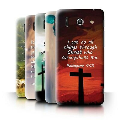 AU11.90 • Buy STUFF4 Back Case/Cover/Skin For Huawei Ascend G510/Christian Bible Verse