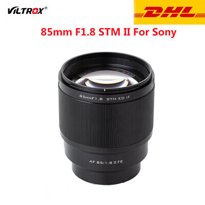 $ CDN543.44 • Buy VILTROX 85mm F1.8 II Full-frame AF Camera Lens For Sony E-mount A9/7 A6300 A6400