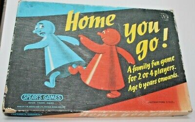Vintage HOME YOU GO!  Retro Board Game-Spear's Games, Complete, Good Condition  • 7.50£
