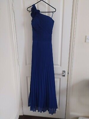 Grace Karin Ladies Long Prom Ball Dress, Blue - Size 8 • 85£