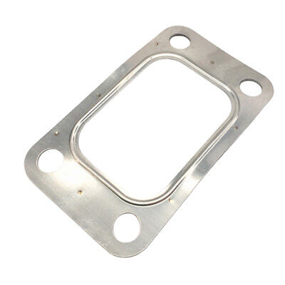 $ CDN14.49 • Buy T4 Turbo Inlet Flange Gasket 4-Bolt 304 Stainless Steel Exhaust Outlet, New