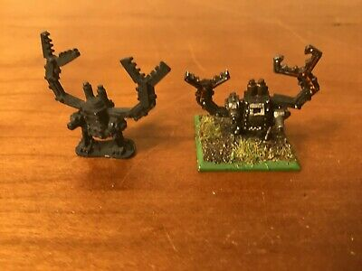$14.95 • Buy WARHAMMER 40K EPIC Lot Of 2 Ork Deff Dread Orks Orc Orcs