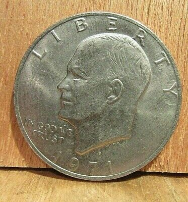 $12.50 • Buy 1971 D One Dollar Coin Liberty Eisenhower Circulated