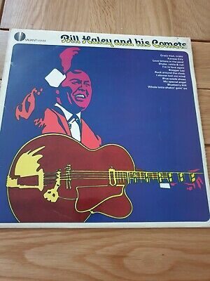 Bill Haley And His Comets Vinyl LP Record 12  Rock N Roll • 3£