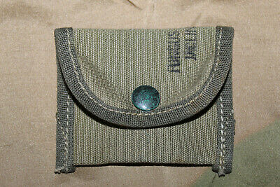 $18.95 • Buy Mint Original WW2 U.S. Army M1 Rifle Spare Parts OD Pouch For Ammo Belt, 1945 D.