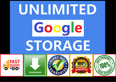 AU9.99 • Buy 👍 Unlimited Google Drive Storage 🔥🔥🔥 Fast Delivery 🔥🔥🔥 Lifetime Access