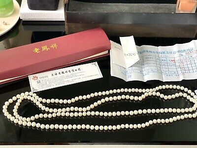 AU270 • Buy Lao Feng Xiang Jewellery Hong Kong Pearl Necklace (brand New, Unwanted Gift)
