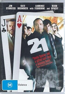 AU5.99 • Buy 21 - Laurence Fishburne - Kevin Spacey DVD Movie FREE POST!