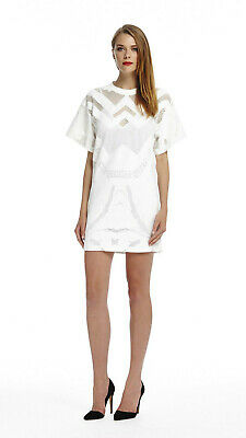 AU49.90 • Buy Alice McCall Streets Of Love White Mesh Mini Dress 6 XS