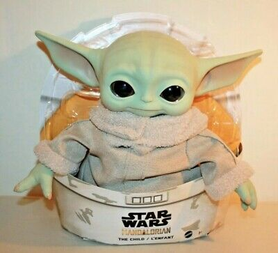 $43.99 • Buy Star Wars The Mandalorian 11  Plush THE CHILD BABY YODA Mattel Official IN HAND