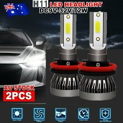 AU18.99 • Buy H11 H8 H9 Led Headlight For Holden Ve Commodore Ssv Ss Sv6 Hsv High Beam Serie