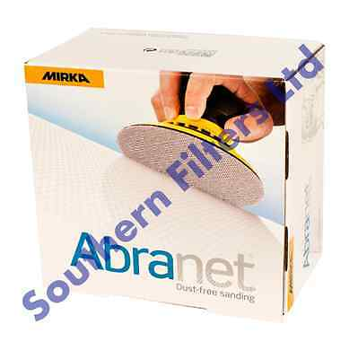 Mirka Abranet 125mm (5 ) Sanding Discs - Box Of 50 - Mix Grit Available!!!!!! • 39.68£