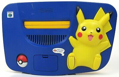 $ CDN321.15 • Buy N64 Pokemon Pikachu Edition Console With Power Cord Only USA Version