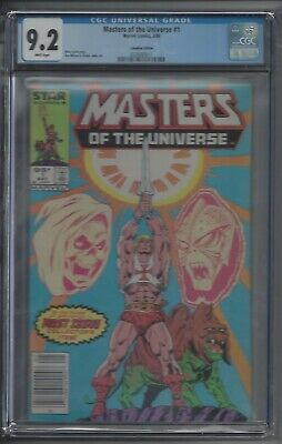 $450 • Buy Masters Of The Universe 1 - CGC 9.2 $.95 Canadian Variant