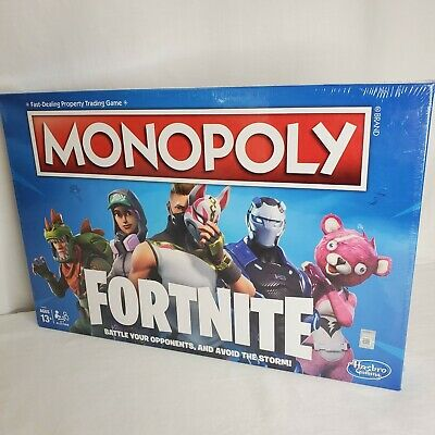 $21.56 • Buy Monopoly Fortnite Edition Board Game Original Characters Battle Sealed New