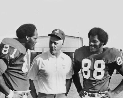 $4.99 • Buy Minnesota Vikings CARL ELLER, BUD GRANT AND ALAN PAGE 8x10 Photo Print Poster