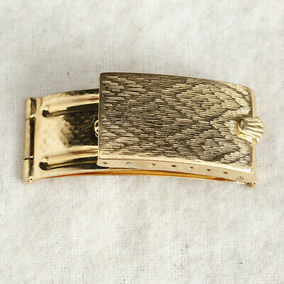 $ CDN2378.61 • Buy Rolex Vintage 60s/70s 18K Clasp Buckle Perfect To Convert For Deployant  95416