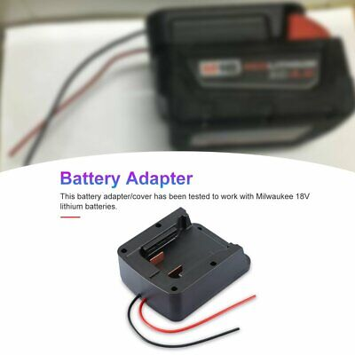 AU22.12 • Buy Battery Adapter With Wiring For Milwaukee 18V M18 XC18 Dock Power Connector *