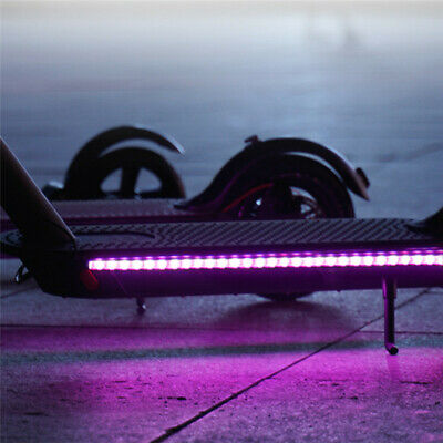 $12.87 • Buy LED Light Night Strip Lights Lamp Accessories For Xiaomi M365 Electric Scooter