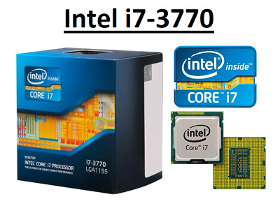 Intel Core I7-3770 SR0PK ''Ivy Bridge'' 4 Core, LGA1155, Clock 3.4 - 3.9 GHz CPU • 114.95£