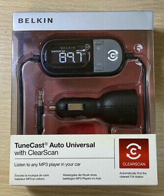 Belkin Tunecast Auto Universal FM Transmitter With ClearScan For MP3 Players  • 24.99£