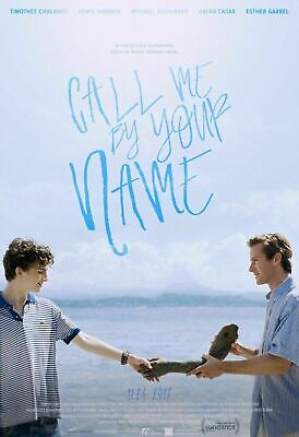 AU52.95 • Buy 273063 Call Me By Your Name Movie WALL PRINT POSTER AU