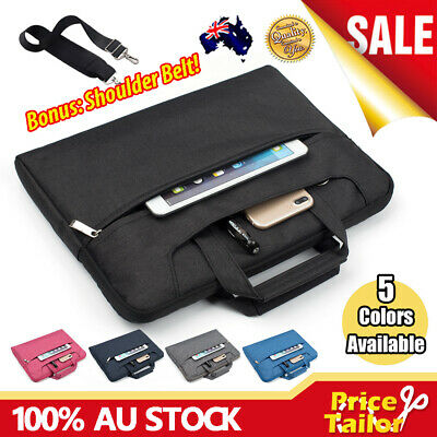 AU22.95 • Buy Notebook Laptop Sleeve Case Shoulder Carry Bag Pouch Cover 11 13 14 15.6 16 17