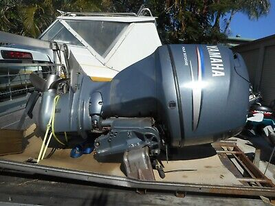 AU1 • Buy Yamaha Outboard F80- F100 Long Shaft Wrecking,all Parts From $1.00