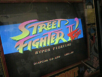 Street Fighter 2 Special Turbo Hack  Pcb Board For  Arcade Video Game Original  • 723.90£