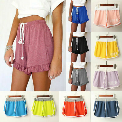 Ladies Womens Skort Baggy Floral Skirt Beach Board Shorts Pants Swim Hot Workout • 4.99£
