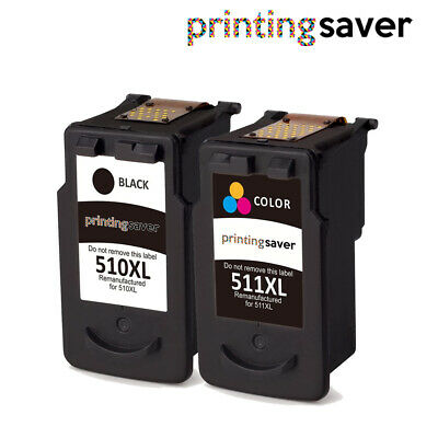 LOT Ink Cartridge For PG510CL511 Canon Pixma IP2702 MP230 MP235 MX360 MX410 • 16.99£