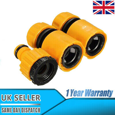 Universal Garden Watering Water Hose Pipe Tap Plastic Connector Adaptor Fitting • 4.92£