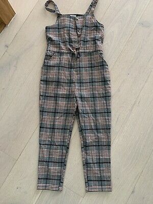Girls Tweed Dungarees Jumpsuit By Next Age 8 Years • 3.99£