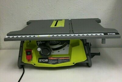 RYOBI RTS23 Portable Table Saw 10 In. 15 Amp Motor Blade Guard System, RR593 • 185.96£