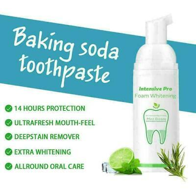 Foam Toothpaste Cleaning Whitening Mouth Wash Teeth Removes Oral Plaque P4I O2N4 • 3.03£