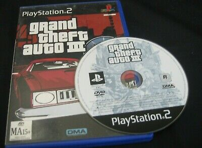 AU6.95 • Buy PS2 Game - 'GRAND THEFT AUTO III' Rated MA15+ Pre Owned