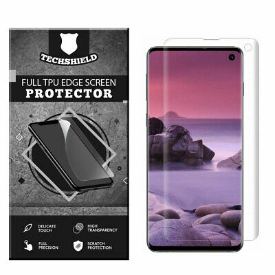 $ CDN3.14 • Buy FULL COVER Screen Protector For Samsung Galaxy Note 10 9 8 S20 S10 S9 S8 Plus E
