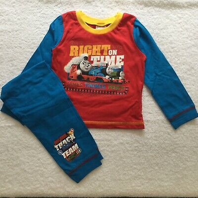 £8 • Buy BNWT Thomas The Tank Engine Long Pyjamas In Ages 18 Months To 5 Years
