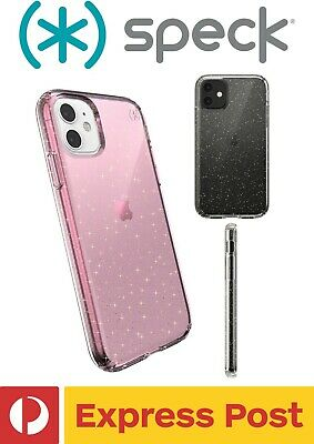AU1008 • Buy IPhone 11 SPECK Presidio Clear + Glitter Drop Protection ShockProof Slim Case