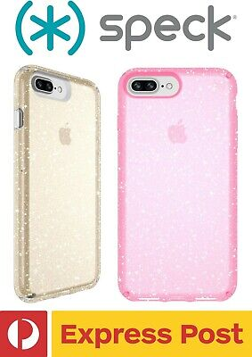 AU64.90 • Buy IPhone 7+/ 8+ SPECK Presidio Clear + Glitter Protection ShockProof Slim Case