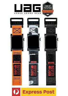 AU55.30 • Buy UAG Active Strap Band For Apple Watch 44/ 42/ 40/ 38mm (Series 1/2/3/4/5/6/SE)