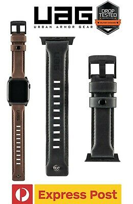AU55.30 • Buy UAG Leather Strap Band For Apple Watch 44/ 42/ 40/ 38mm (Series 1/2/3/4/5/6/SE)