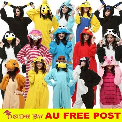 AU29.95 • Buy Adult Animal Kigurumi Movie Star Cosplay Unisex Sleepwear Pyjamas Onesie Costume