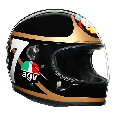 AGV X3000 Barry Sheene Tribute Replica Legends Motorcycle Helmet | Size ML • 399.99£