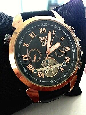 REDUCED* TO CLEAR*  20 POUNDS Tourbillon Style Gents Elegant Watch • 20£