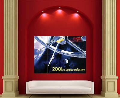 £14.95 • Buy 2001 A Space Odyssey Sci Fi Movie Giant Wall Art New Poster Print Picture En404