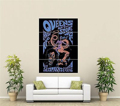$20.59 • Buy Queens Of The Stone Age Concert Poster Metal Rock Giant Poster Print