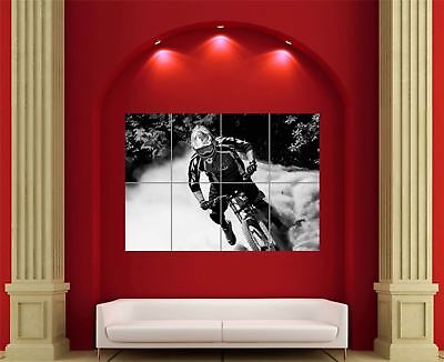 £14.95 • Buy Mtb Mountain Bike Downhill Sport Giant Wall Art New Poster Print Picture