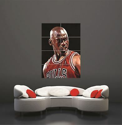 Michael Jordan Giant Wall Art Print Poster Picture • 14.95£